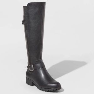 NWT Universal Thread Women's Tall Riding Boots